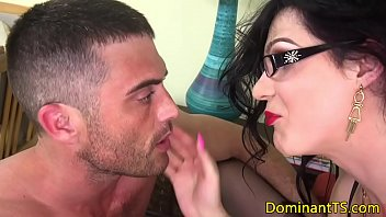 guy fucks shemale in ass Cumming on moms shoes and pantyhose
