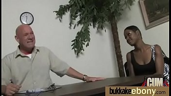 white creampie gives teen ebony guy a Japanese rough multiple creampie record
