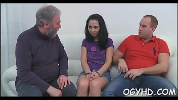 with two anal hotties young threeway Married milf cant say no to her husband cock