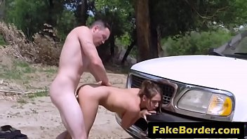 patrol and border sexcomaunty boy Pulsating cumshot she swallows it all