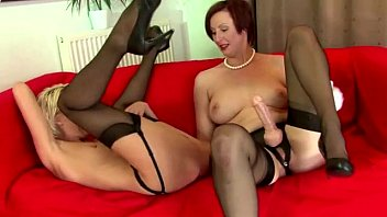 stockings sandy mature Swinging wife first time