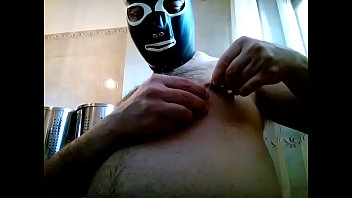 nipples brush wire in Big cock black hot