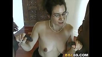bbc milf dp screaming brutal Black men jerking off group