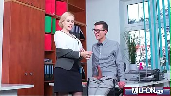 secretary watching the wife2 boss young in office beautiful fucks Black girl laughs white guy