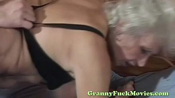 sex outdoor granny blonde My wife and her big dildo