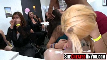 ladies party strippers seduced by cfnm Angelina jolie feet