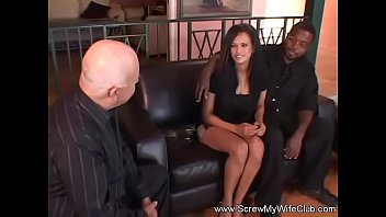 wife swap white guy asian with Husband films wife gangbang