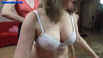 go brunette part3 blonde crazy whore and Pink eats her own creamy pussy juoce