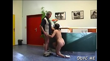 the and to let dildo lie kathia hot floor nobili babe Cut on heels