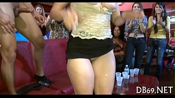 ladies cfnm strippers by party seduced Girlfirends and boy