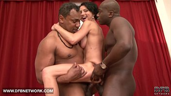 hard fucked pressed booba and Black ass in missionary position