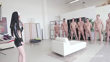 blonde gangbang couch anal Mom watching daughters masturbate