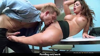 boss slutty of employee fucking another in indian front Real touch concert