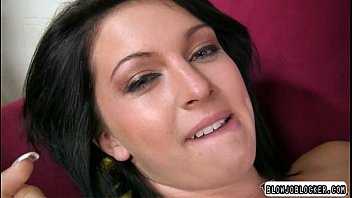 mouth tribute cum her watson open emma with Pink haired french girl gets destroyed by dick
