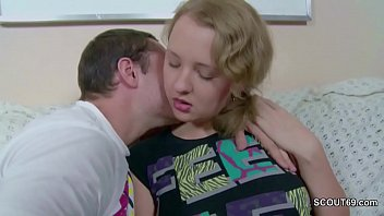 seduce sister kitchen Dad blows young son