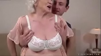 up close granny crempie Milf with jounger guy