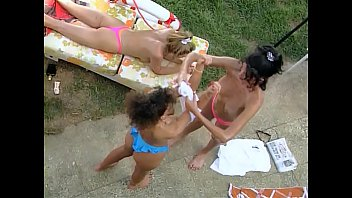 indian outdoor photoshoot Two sex loving girls and one stallion4