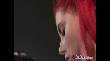 amateur real webcam young Blonde shemale mireira dominates over tall lover