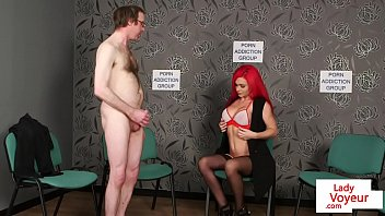 denial chastity femdom Males unfathomable hammering gives babe pleasures