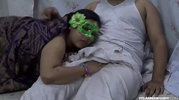 indian gf striping in towel Room service maid
